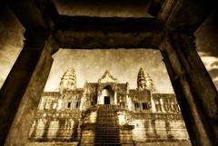 The Back Entrance to Angkor Wat