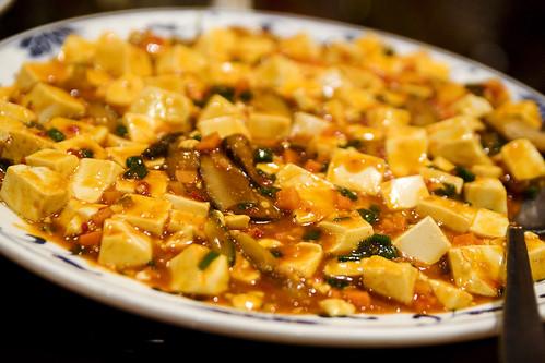 spicy tofu stuf