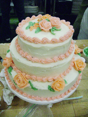 Rachel's class cake