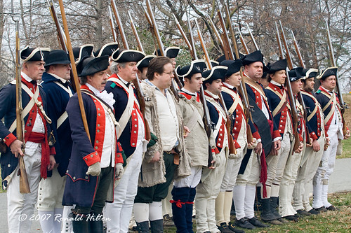 Continental army continental army drilling