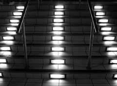 Symmetry is a must. (Louis Beche) Tags: light london stairs soho trocadero