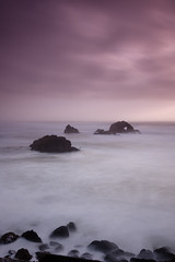 Seal Rocks (Tyler Westcott) Tags: sanfrancisco california longexposure daylight rocks surf tide pacificocean daytime sealrocks sealrock nd400 ndgrad nikond40 hitech06he