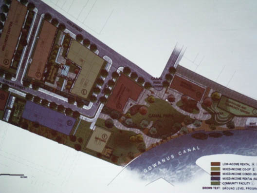 Hudson Site Plan Closeup