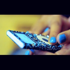 I Can't Speak French (Jadore Allure) Tags: blue music crystals ipod nail polish turquiose allure jadore 6aaar