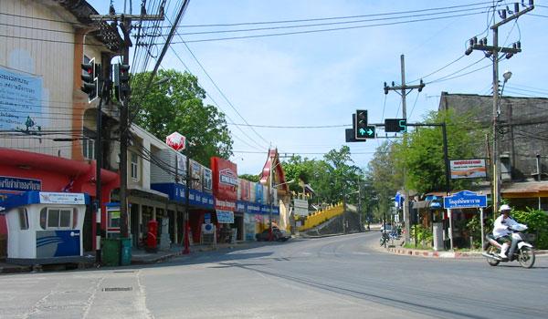 На улицах Ранонга.