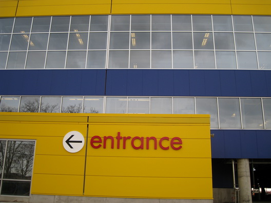 Ikea Entrance Sign
