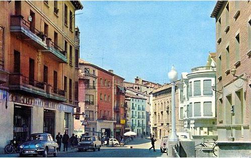 Barbastro, Calle General Ricardos.