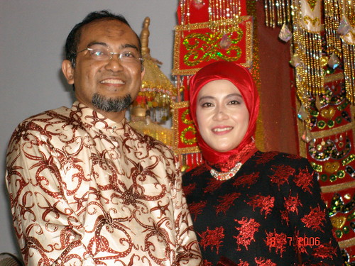 Foto bersama istri. Dok. Pribadi. Flickr.