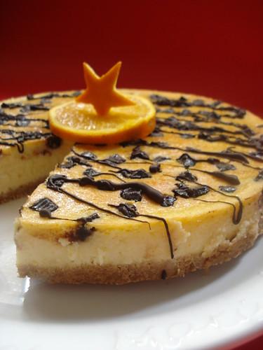 portakallı cheesecake 017