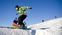 Spread your wings (Julius Koivistoinen) Tags: snow sports snowboarding action widescreen canoneos350d 1740mm 16x9