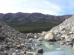 Fitz Roy - trek - glacier piedras blancas - vallee