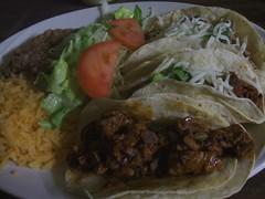 Three taco special