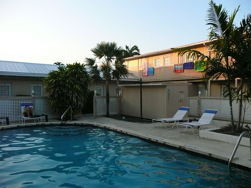 spindrift motel pool
