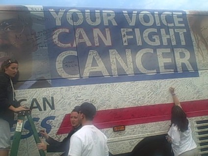 May 17 2008 - Beat Cancer Express Bus8 by you.