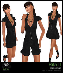 [MG fashion] Rita II (charcoal)