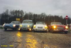 Les annes tudiant ... (Laurent CLUZEL) Tags: nikon voiture renault collection 1958 circuit dauphine routier anneau ancienne vitesse linas f801s montlhry