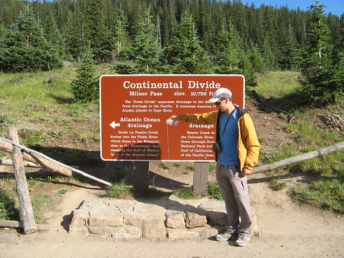 At The Continental Divide