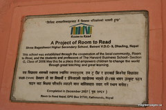 A Project of Room to Read in Nepal