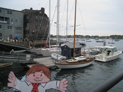 flat stanley: marblehead harbor
