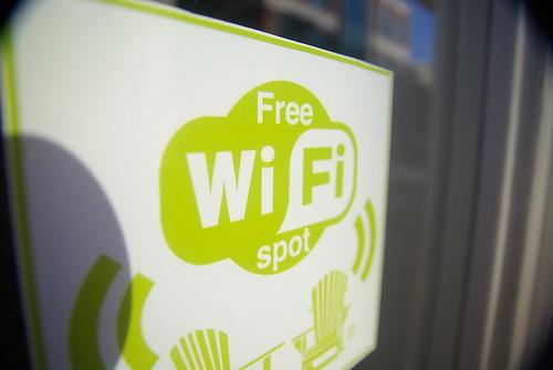 Free WiFi (by Charleston's TheDigitel)