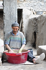 Fez / Morocco (Mait Jriado) Tags: africa trip vacation portrait people holiday man ceramic workers erasmus market african country working arabic exotic busy morocco clay fez pottery medina destination oriental orient moroccan withfriends maroko cheramics aafrika