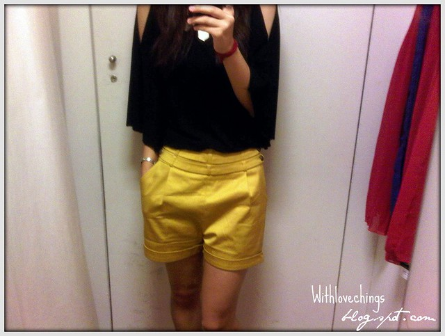 MEGAGAMIE Upcoming Shorts In Mustard - 1