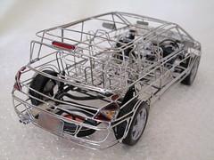 Avantime skeleton model Back (macco) Tags: auto car automobile renault  matra avantime