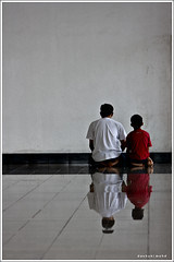 Father & Son (Dashuki Mohd) Tags: family people reflection muslim islam father prayer culture son mosque malaysia klia ramadhan masjid selangor canon400d canonef90300mmf4556usm awe2020 masjidsultanabdulsamad