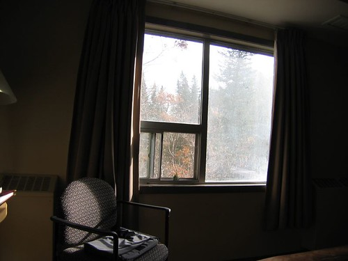 My room at the Banff Centre.