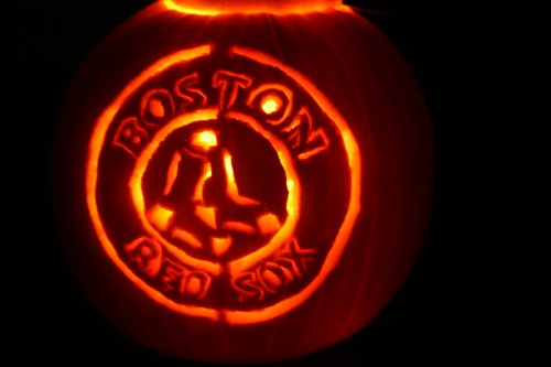 Amy's Red Sox Pumpkin