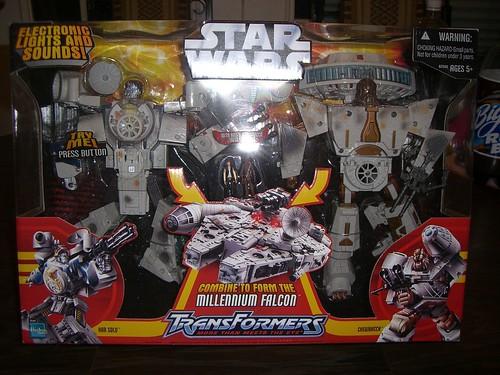 Millenium Falcon Transformer