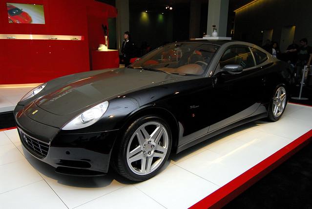 california car losangeles autoshow supercar laautoshow 2007 ferrari612scaglietti nikond200 revention