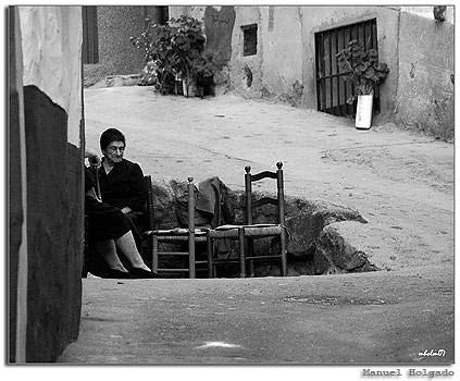 la silla vacía, foto de Manuel Holgado