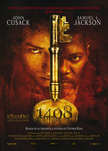 Póster y trailer de '1408′: John Cusack buscando fantasmas