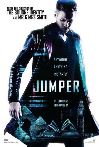 Nuevo trailer y nuevo póster de 'Jumper'