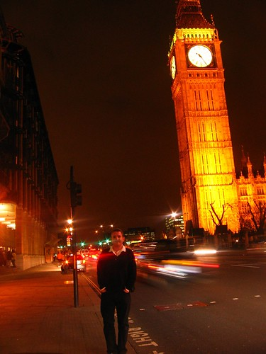 London, Me and Big Ben at Westminster