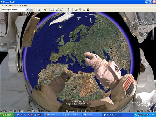 Earth Weltraum