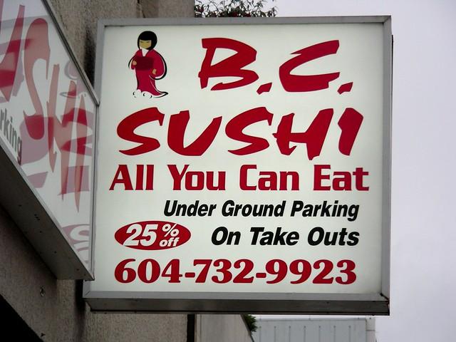 bc sushi