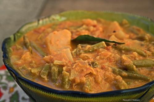 Kizhangu payaru stew