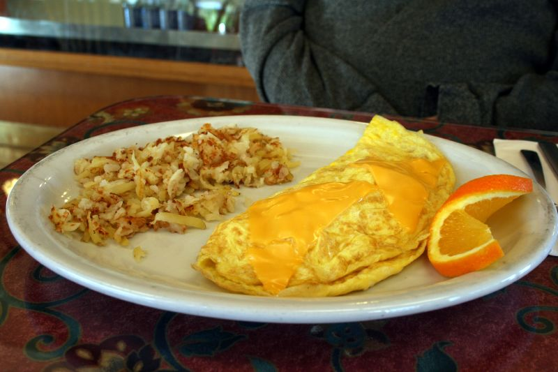 Ham & Cheese Omelet