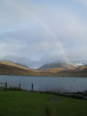 Rainbow over West Loch Tarbert
