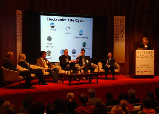 Materials & Lifecycle Panel: Jennifer Van Der Meer moderating