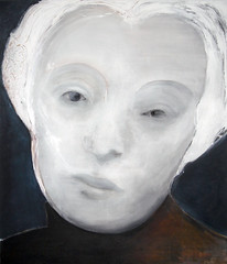MUTTER COURAGE (2007/2008) (przondzion) Tags: portrait woman face germany painting deutschland gesicht expression kunst fineart mother portrt frau 2008 mutter 2007 gemlde ausdruck tomprzondzion