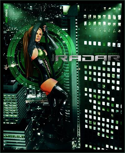 Britney Spears Radar poster 1