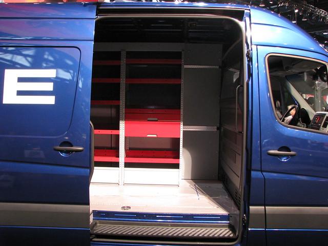 car automobile interior van dodgesprinter 2008chicagoautoshow