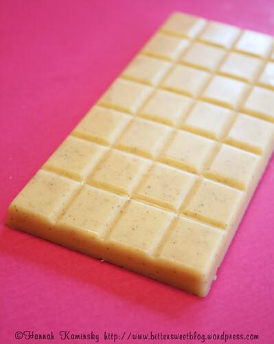 Vegan, Gluten-Free White Chocolate Bar