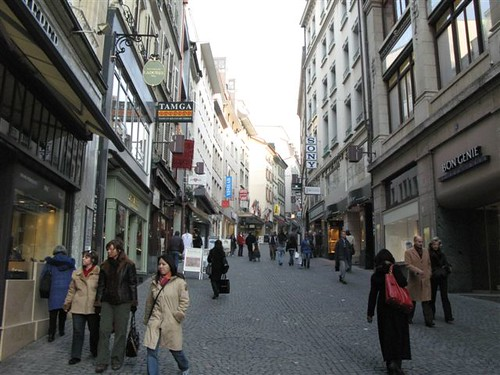 Lausanne's Old Town