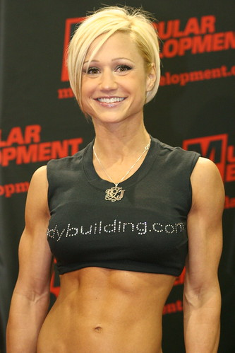 Jamie Eason At The 2008 Arnold Classic