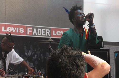 Saul Williams at SXSW 2008
