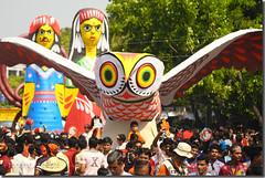 Bangla New Year Parade (Shabbir Ferdous) Tags: woman wonderful women colorful photographer bangladesh 1415 woodcraft bengali bangladeshi pohelaboishakh april14 nababarsho noboborsho artofbengal canoneosrebelxti shuvonoboborsho poilaboishakh shubhonoboborsho shabbirferdous banglacalendar boishakhiparade banglagirls bdgirls celebrationinbangladesh sigmazoomtelephoto70300mmf456apodgmacro wwwshabbirferdouscom shabbirferdouscom